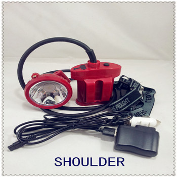 MADE IN CHINA 5W LED IP65 cordless miners light miners cap lamp