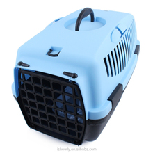 Plastic Pet Carrier For Cat Dog Puppy Rabbit Travel Box Basket Cage Outdoor New