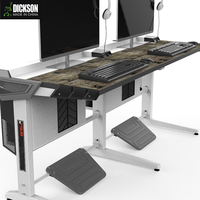 Dickson central control design with two switchs computer desk wholesale