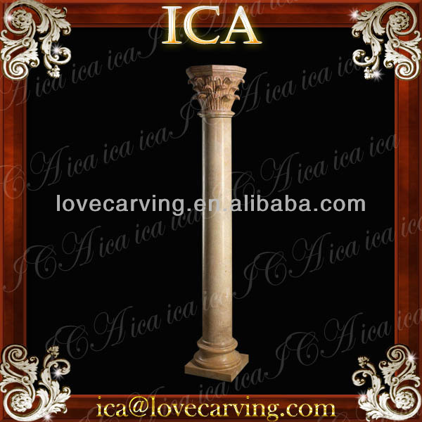 Small marble column