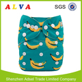 ALVABABY Banana Print Diapers Baby Cloth Diapers Wholesale China