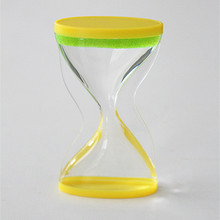 Acrylic With Color Liquid Oil For Decoration Hourglass Sand Timer