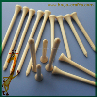 8cm tall golf tees natural bamboo tees for sale