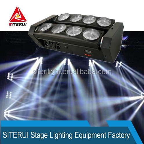 Stage LED moving head light spider light 8*10w LED beam light