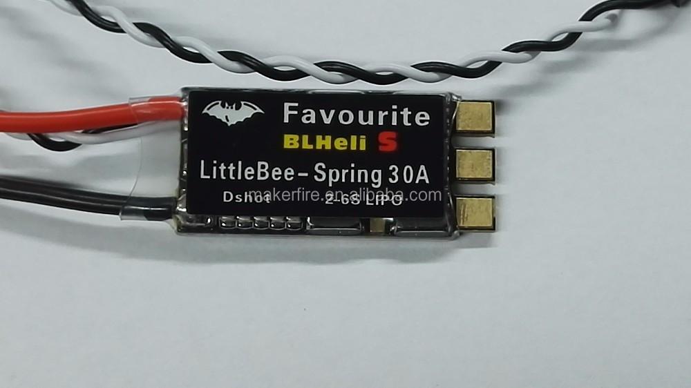 4pcs FVT LittleBee BLHeli_S SPRING ESC DSHOT 30A OPTO Electronic Speed Controller 2-6S Brushless6.jpg