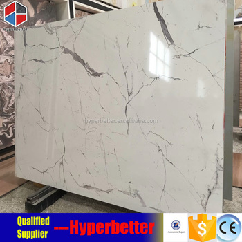 Artificial marble slabs