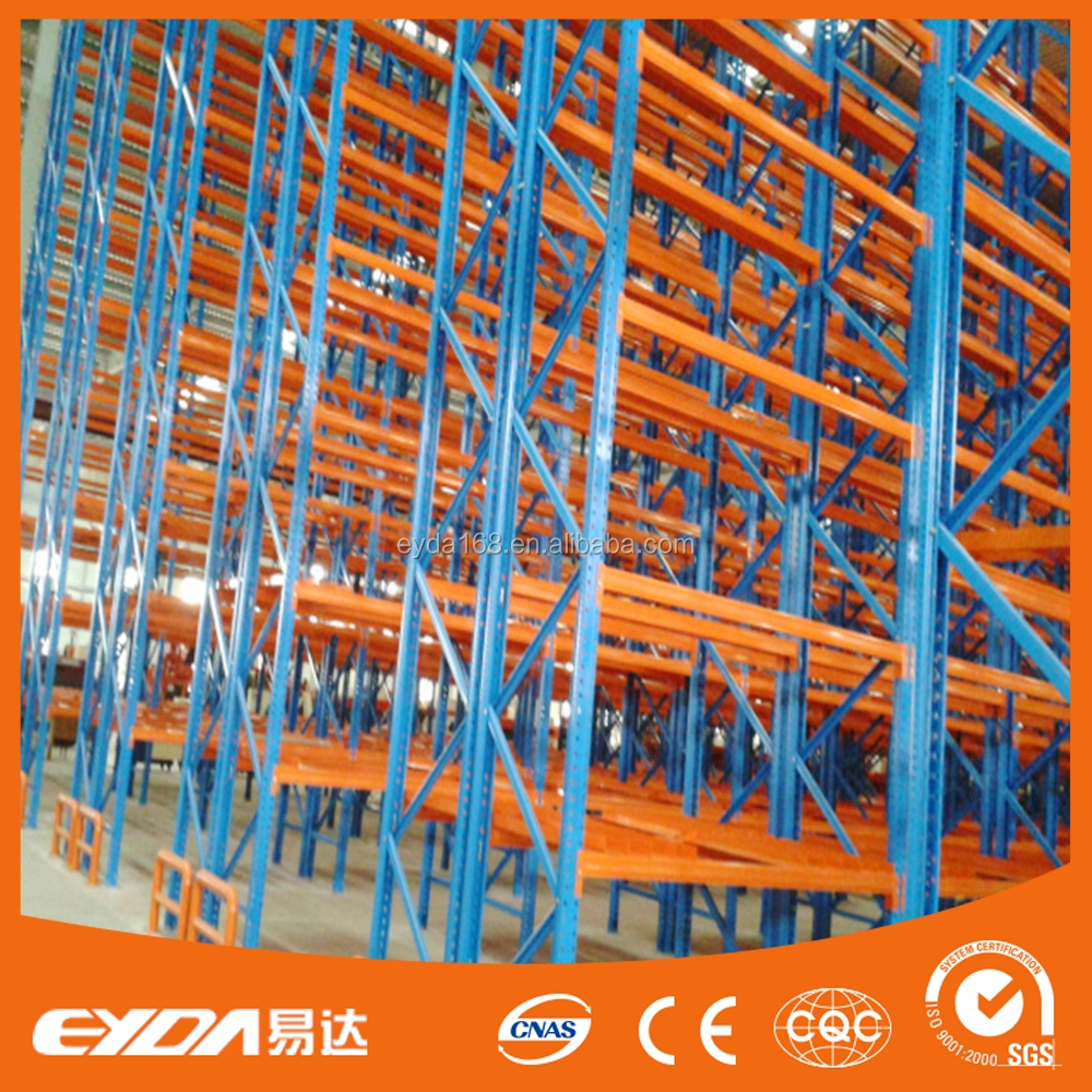 heavy duty sheet metal storage selective pallet rack for warehouse