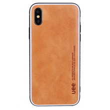 360 degree protection Deluxe Cowhide Leather Phone Cover For iPhone x Case
