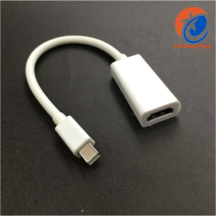 1.5m High speed mini DisplayPort thunderbolt female to hdmi male adapter cable for mac