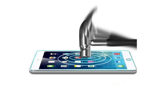 Explosion proof bubble free for ipad mini 4 High Clear screen protector glass wholesale price