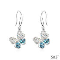free images flower zircon hoop single stone designs earring