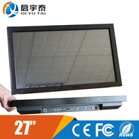 sustained monitor 27 inch wall mounted touch screen computer with with big capacity 4GB RAM