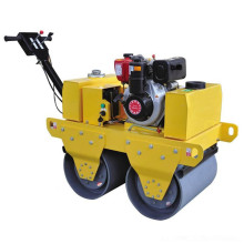 Small Double Handheld Pavement Vibrating Road Roller