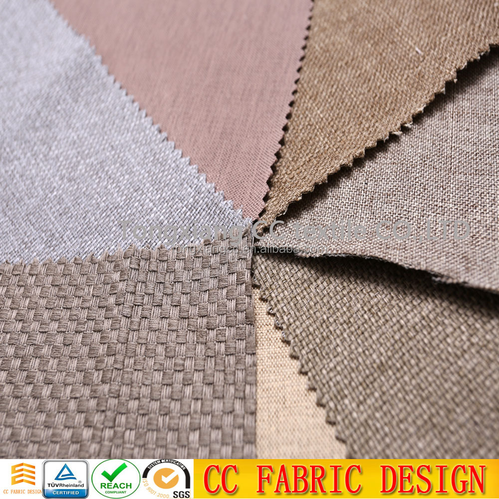 Hot selling sheer fire retardant dimout curtain lining fabric
