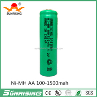 ni mh aa 1500mah 1.2v rechargeable battery batteries