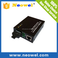 1000M fiber to copper coaxial converter singlemode GE fiber optical media converter