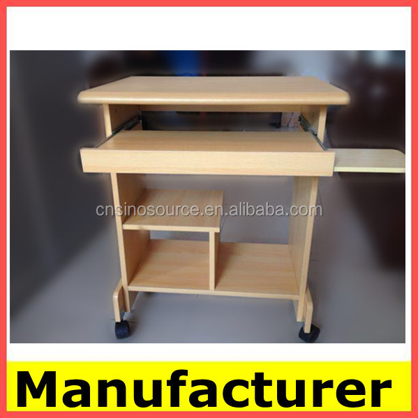 pictures of hot sale morden wooden office computer desk/computer table/ computer desks wholesale picture