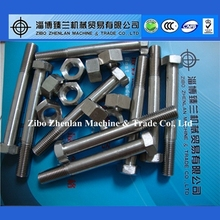 alloy fasteners bolt and nut Inconel 718 825 901 925