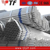 China price ASTM A53B ERW schedule 20 galvanized steel pipe