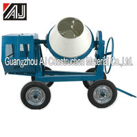 Tanzania Small Moveable Concrete Mixer/Concrete Mixing Machine/Cement Mixer with High Productvity