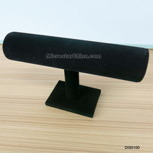 14*23cm T-bar black velvet jewelry bracelet display