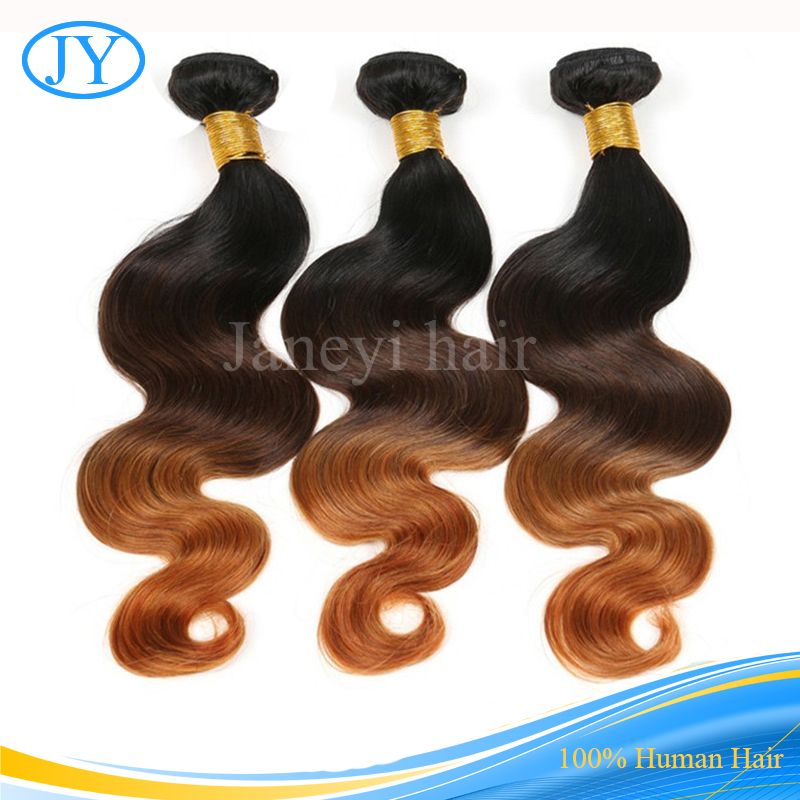 Brazilian Human Hair Body Wave 7A The Best Of Protein Hair For Sew In Weave Ombre Hair