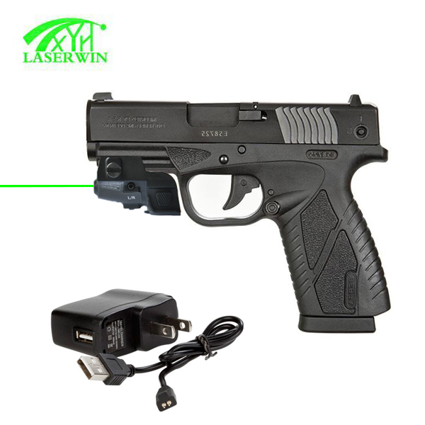 tactical Rechargeable &Adjustable aming green laser gun sights glock pistol