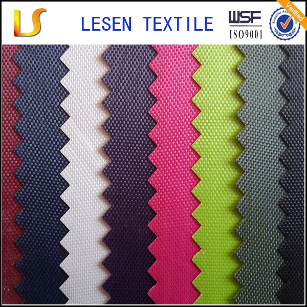 Shanghai Lesen Textile good quality 420d nylon oxford fabric for sale