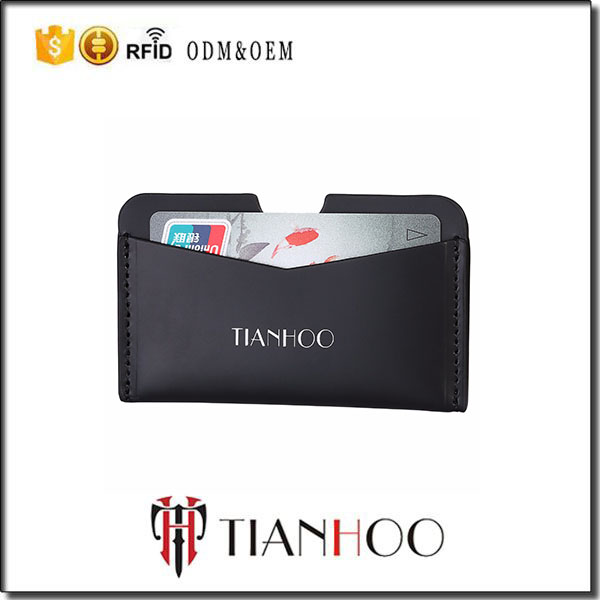 Ultra Thin Card Holder Design Men's Woman's Slim Card Sleeve Wallet