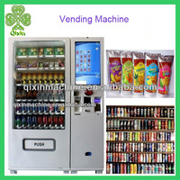 2014 hot sale practical snack and drink vending machine