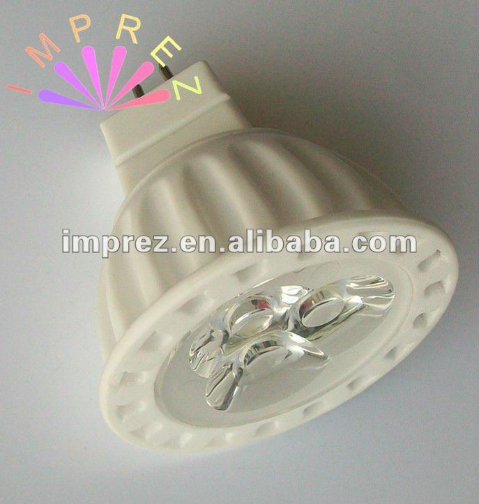 EXW Price 12V GU5.3 3w mr16 led spot light,gu10/e14/e27/b22 mini led spot light