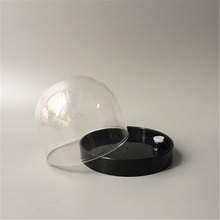 cheap wholesale empty plastic snow dome for custom DIY