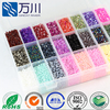Factory Wholesale Fashionable Plastic Beads Crystal