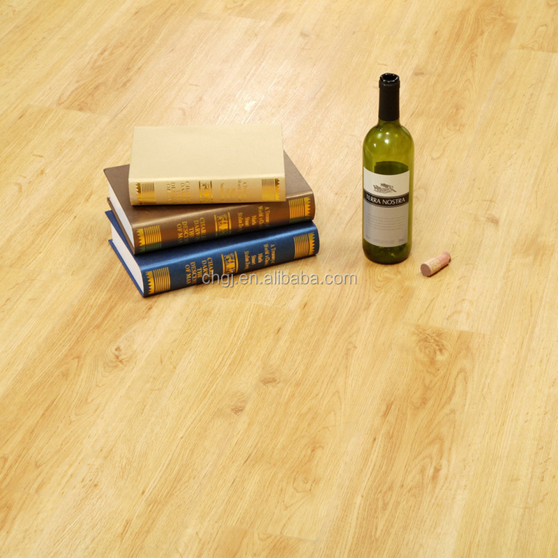 Indoor floor covering wood look like vinyl plastic floor pvc floor tiles