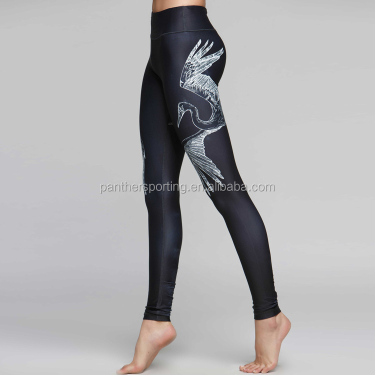 SUPER SEPTEMBER 92%Polyester 8%Spandex Double Brushed Soft Milky Silk Leggings Novelty Prints Leggings