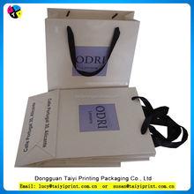 Customized printed industrial packaging paper bag