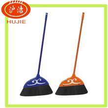 black hard bristle broom