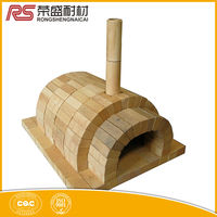 Furnace Kiln Use Refractory Materials Round Fire Bricks