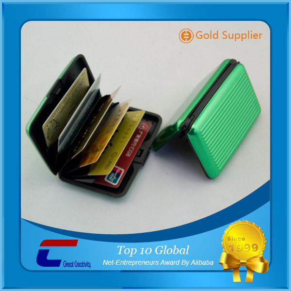 Top quality RFID wallet / RFID card case / custom credit card holders