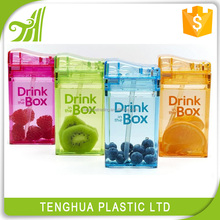 lover gift plastic fruit drinking water bottle