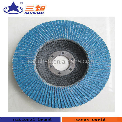 Metal Buffing Abrasive Flap Disc
