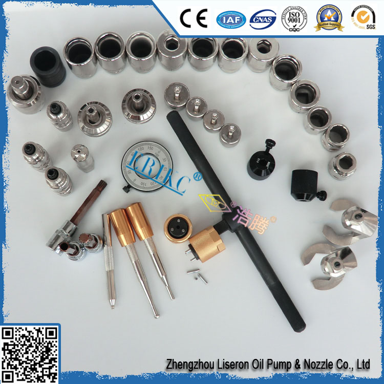 Long warranty denso common rail injector tools 38PCS,automotive common rail injector nozzle tool and pump repair equipment