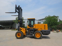 Material Handling Equipment YC120 4X4wd rough terrain forklift