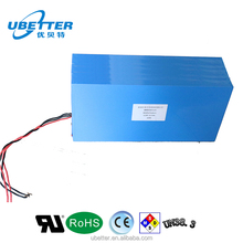 High Power 48V 40ah rechageable LiFePO4 Motorcycle Battery with PCM