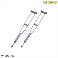 Custom Size Aluminum Medical Crutches For Walking