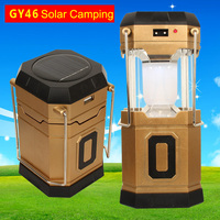 Passerby GY46 pull and push AC rechargeable AAA battery USB power bank solar camping lanterns
