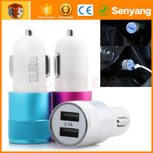 wholesale cell phone accessories double usb mobile car charger