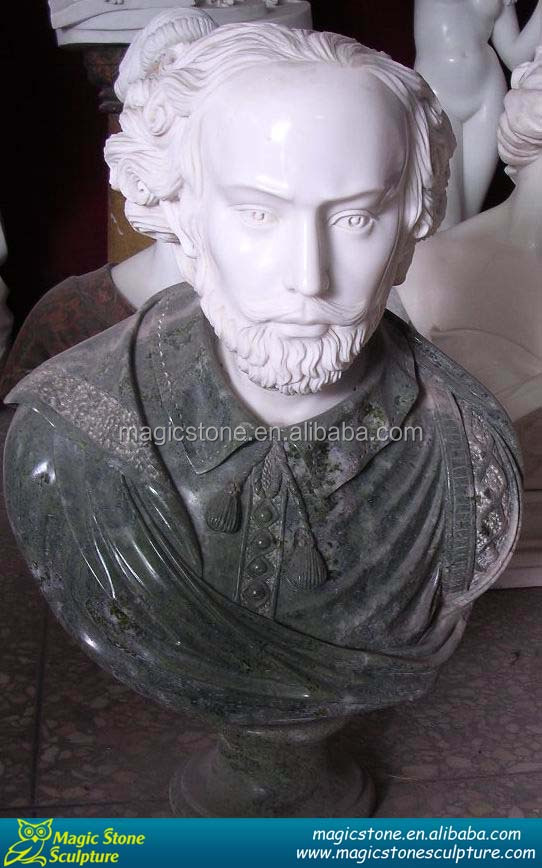hand carved stone busts on sale