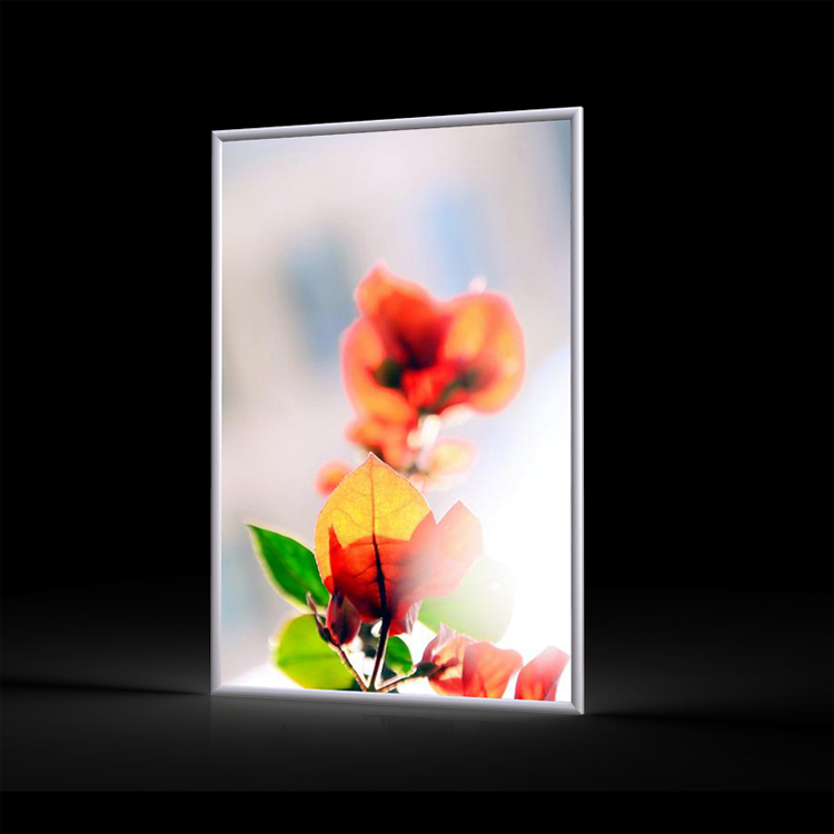 Super slim aluminum extrusion backlit <strong>display</strong>