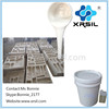 Silicone liquid molding rubber for Concrete with Hardener